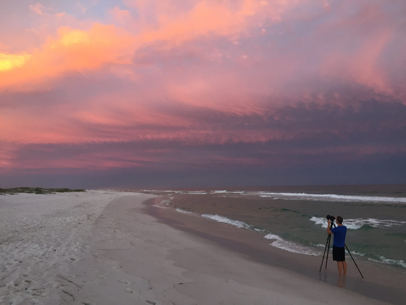 Gulf Islands National Seashore Sunset