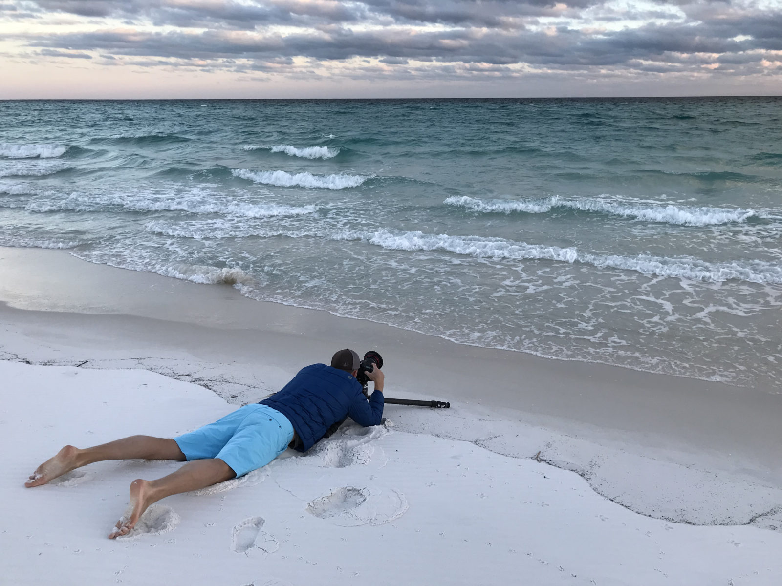 Max shooting at Gulf Islands National Seashore