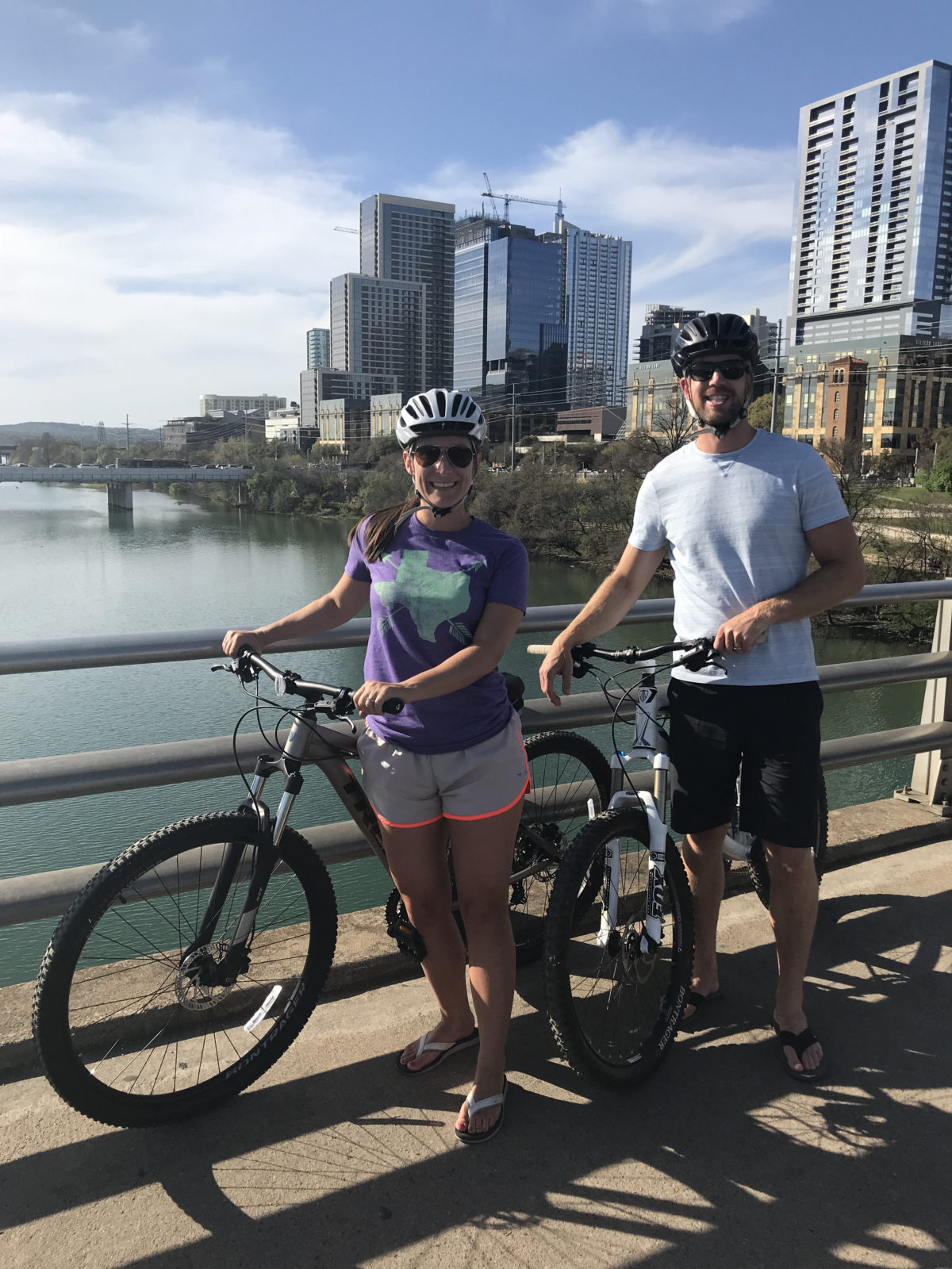 Biking in Austin