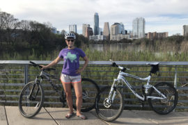 Biking Riding in Austin