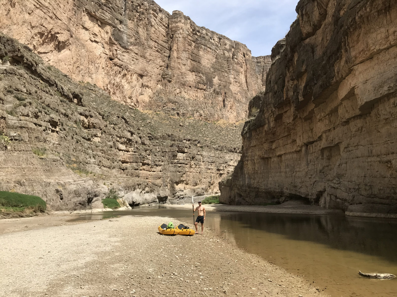 Sandbar Break in the Canyon