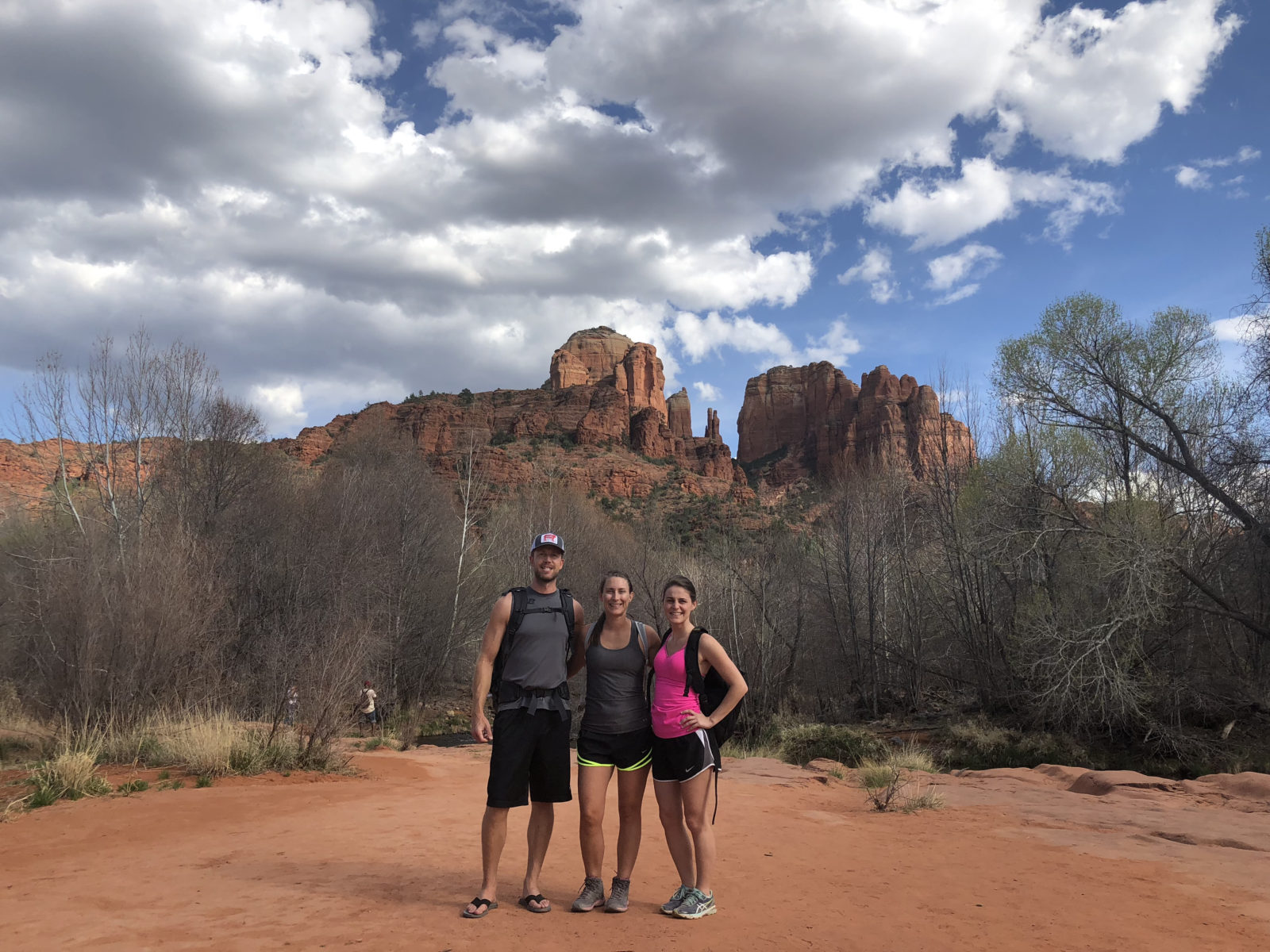 Hiking to Cathedral Rock