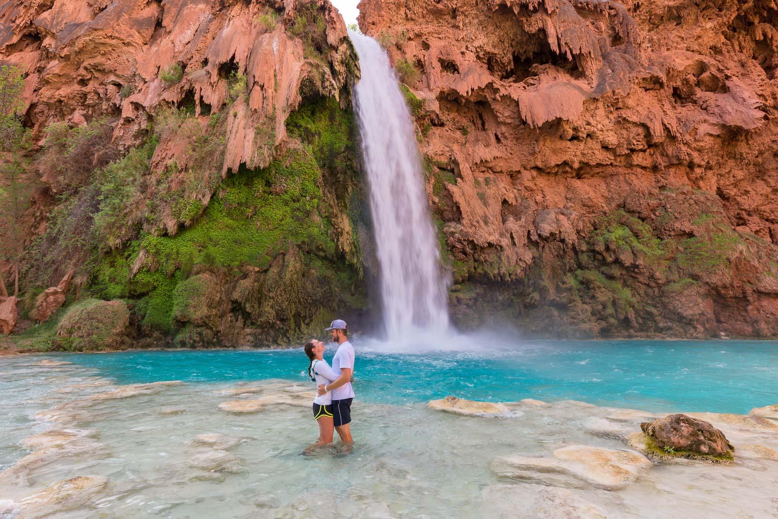 The Turquoise Oasis of Havasu Falls, Arizona