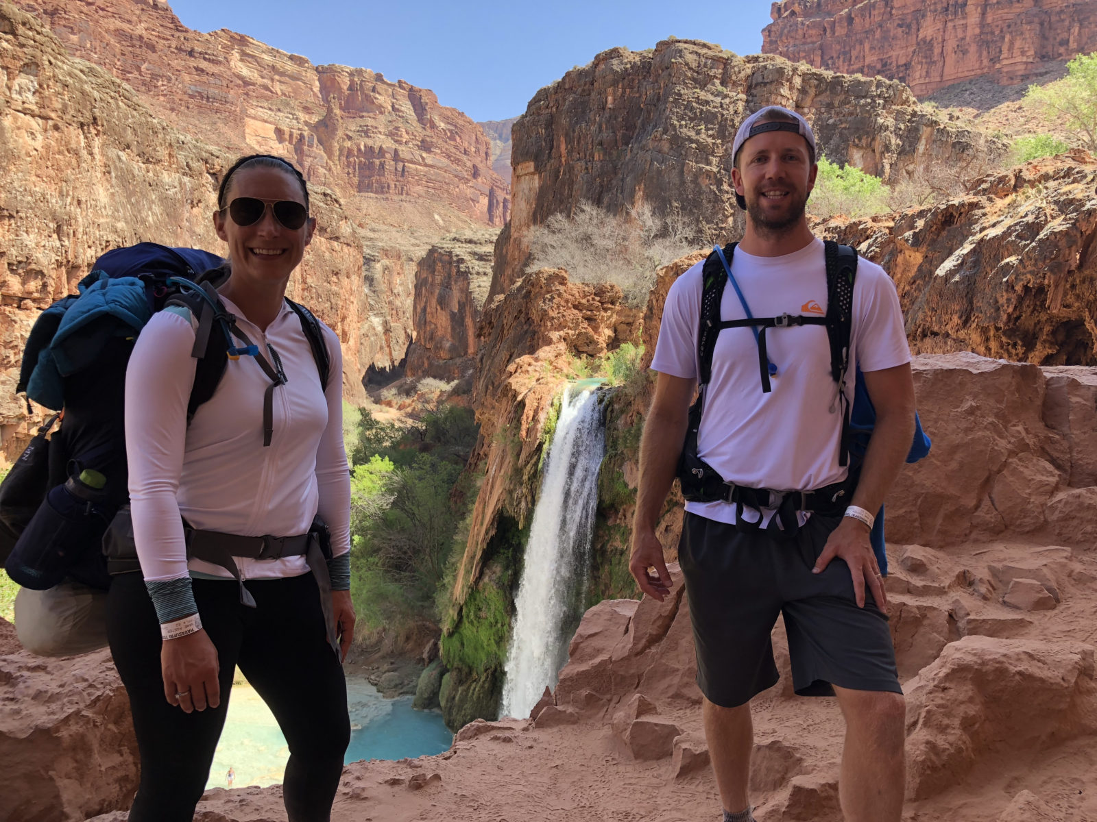 Finally Reaching Havasu Falls!