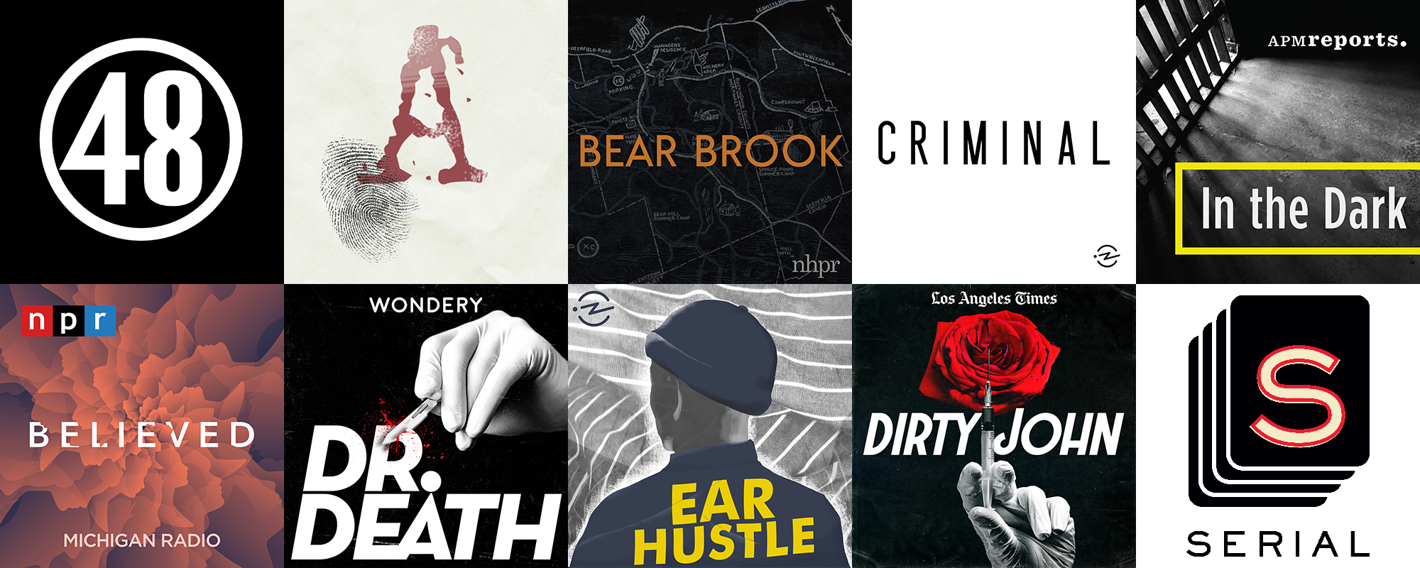 10 True Crime Podcasts for Your Next Road Trip